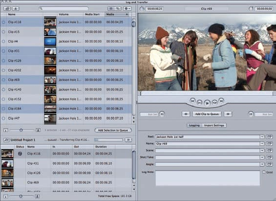 Final Cut Pro merge MPEG