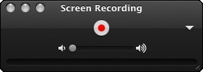quicktime screen recording audio