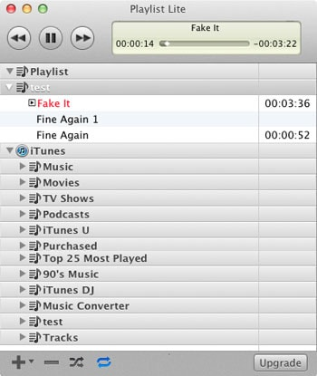 quicktime playlist