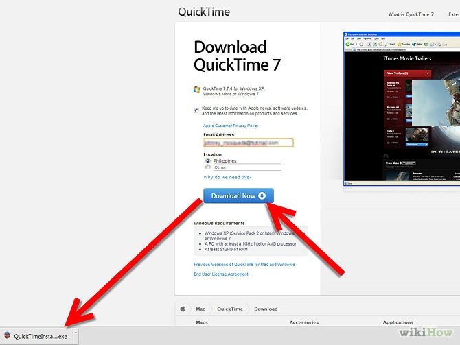 download quicktime on mac