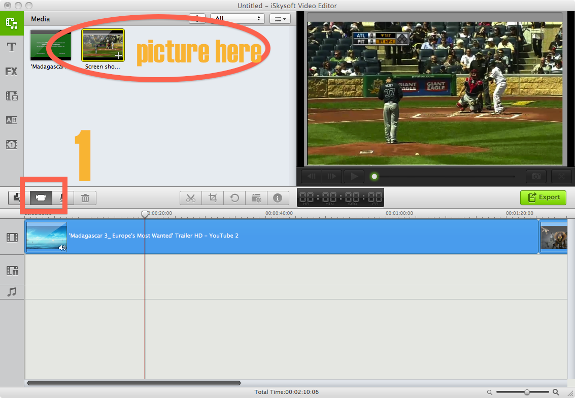 imovie does not allow screen capture how to do