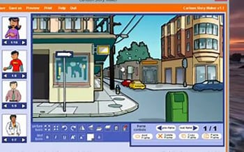 windows movie maker templates free download Cartoon Story Maker