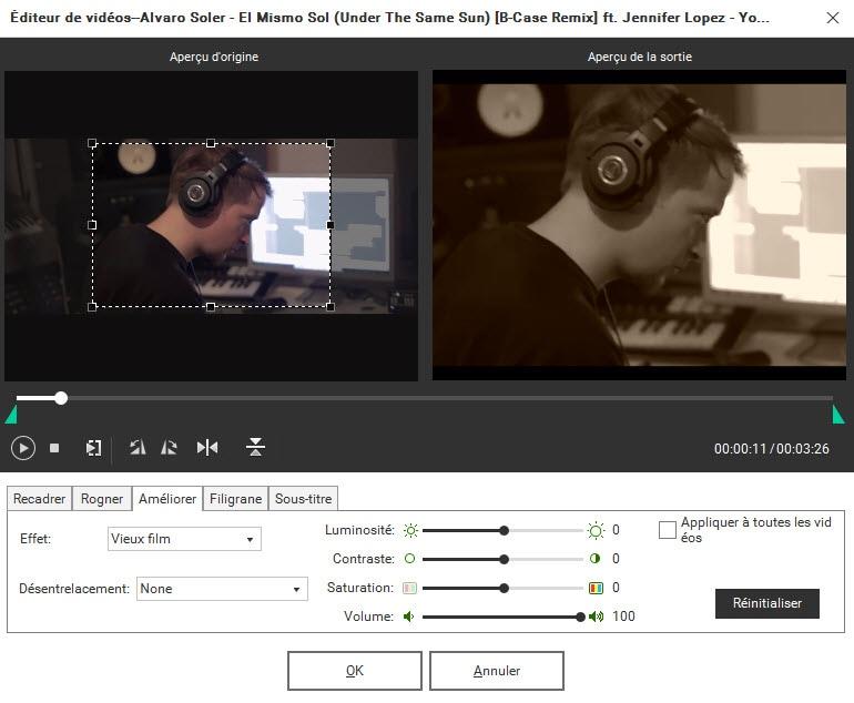 modifier des vidéos