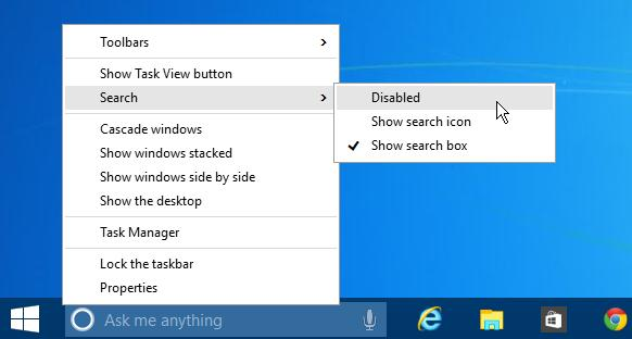 search option