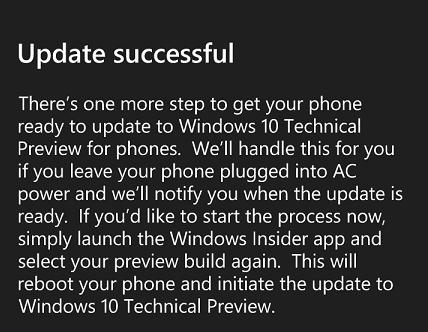windows phone upgrade to windows 10
