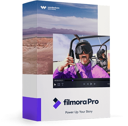 filmorapro video editor