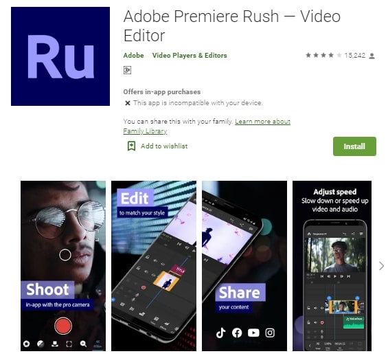 what apps can you use to make a youtube intro
