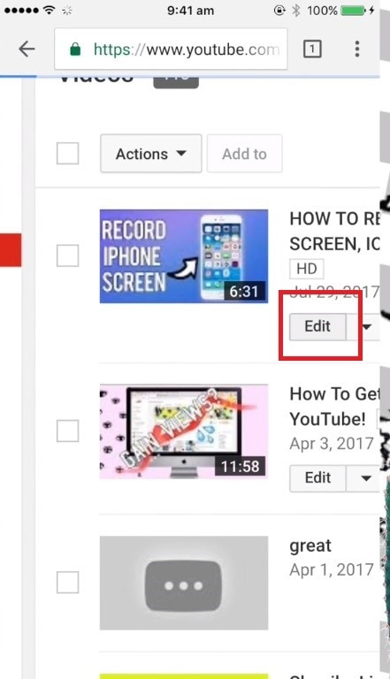 add video thumbnails youtube