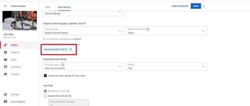 comment ajouter des sous-titres à une vidéo sur youtube