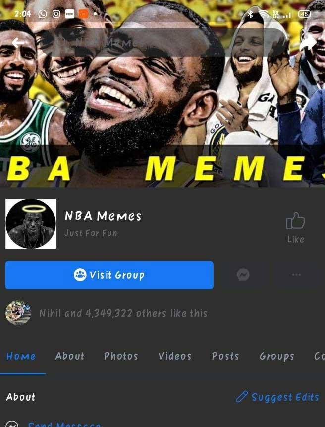 facebook memes konten
