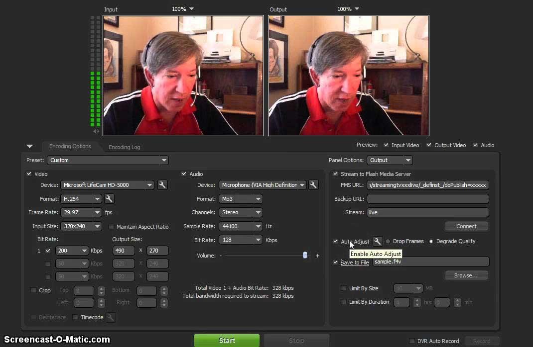 adobe flash media live encode