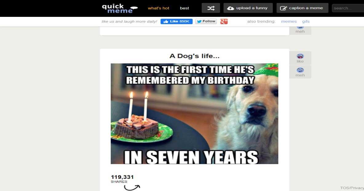 meme website