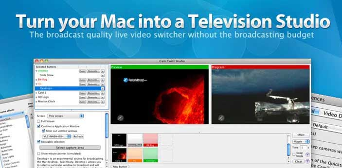 logiciel alternatif à vmix pour mac