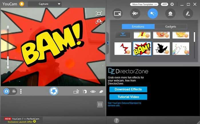 logiciel de webcam gratuit