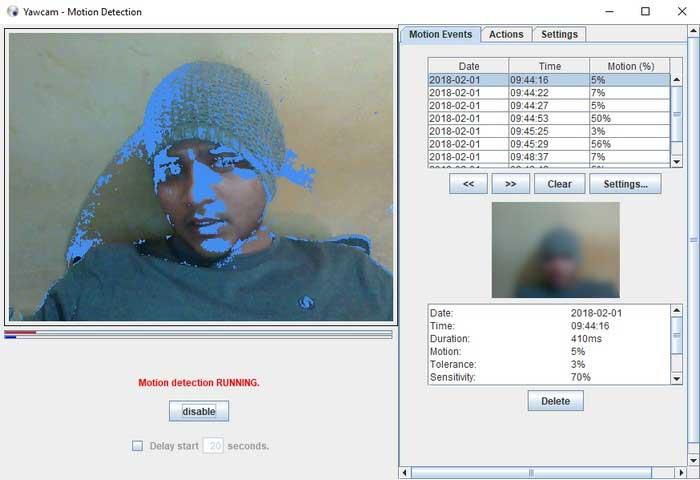 logiciel de webcam gratuit pour windows 10