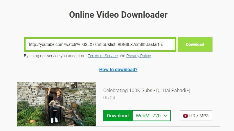 youtube video downloading