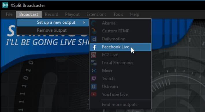 dslr für facebook live verwenden