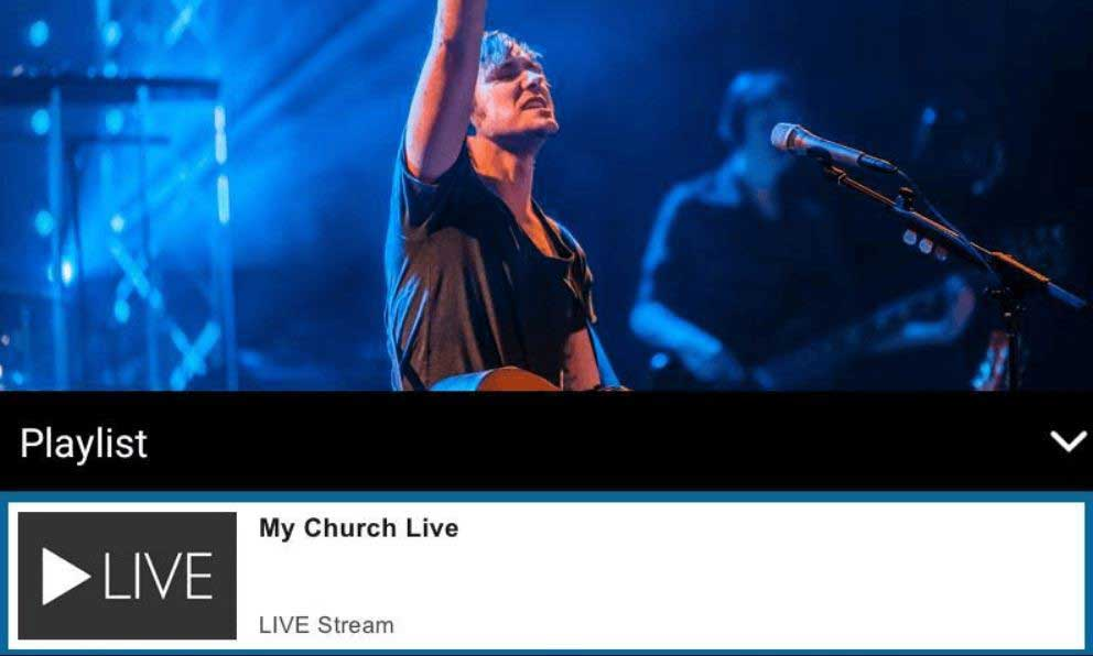 live video streaming services for churches