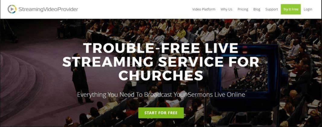 top live streaming services for churches