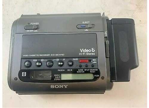 sony evo-220 video8 8mm player