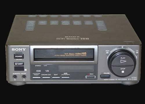 sony video hi8 ev-c100