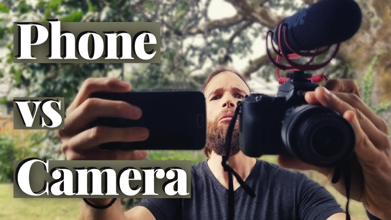 vlogging with phone