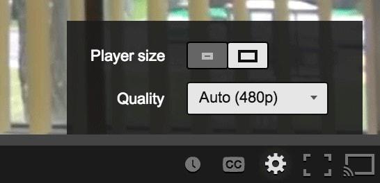 modify youtube video quality