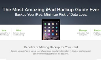 The Most Amazing iPad Backup Guide Ever