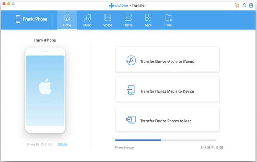 Explore and Browse Folders and Files on iOS/Android Devices