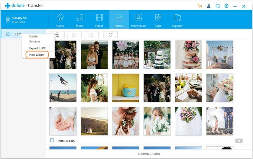 create photo album