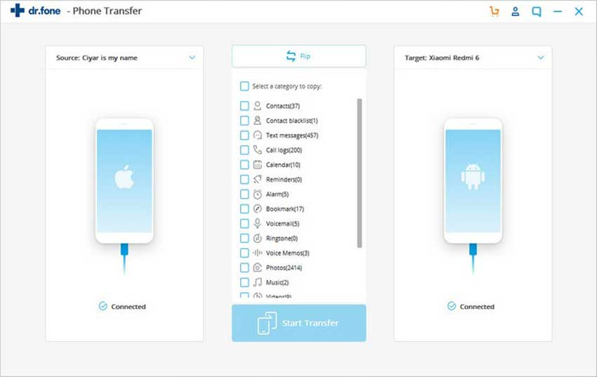 how to transfer contacts through icloud