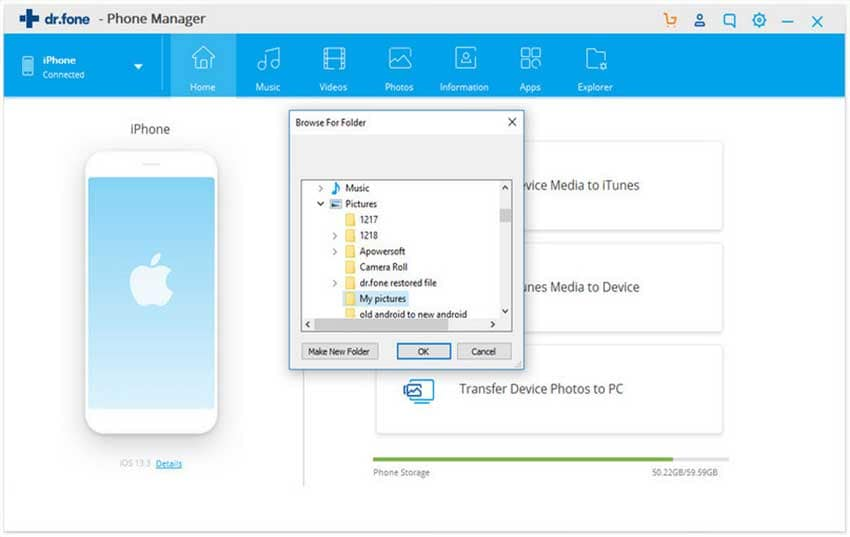 how to transfer photo from iphone to pc