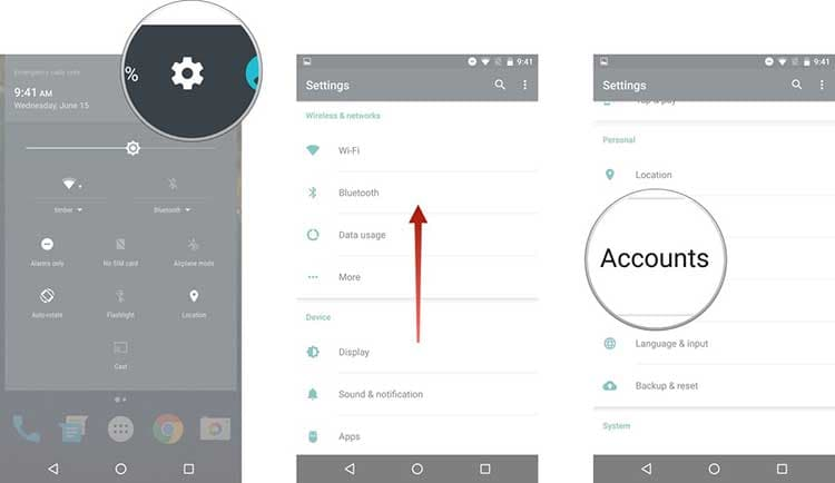 app to transfer contacts from android to android