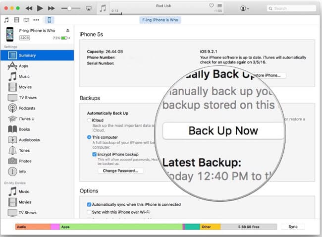 transfer messages from iphone to computer free