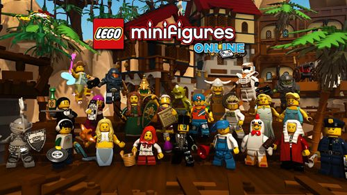 Lego minifigures: Online