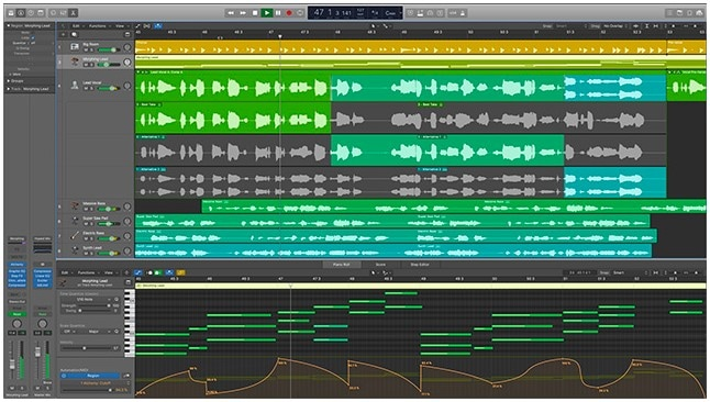 logicprox music mixing