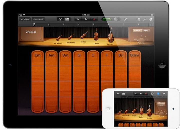 free music for iphone 6 garageband