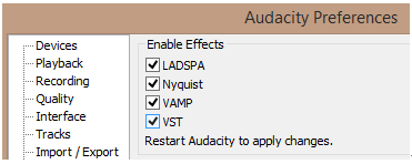 Results for audacity vst plug in