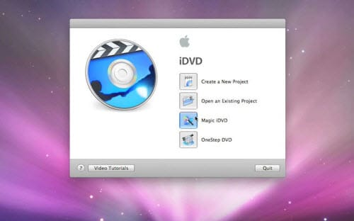 convert avi to dvd in idvd