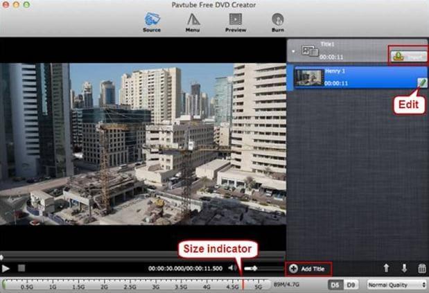 pavtube free dvd creator for mac