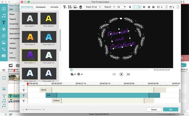 free video editor app add text