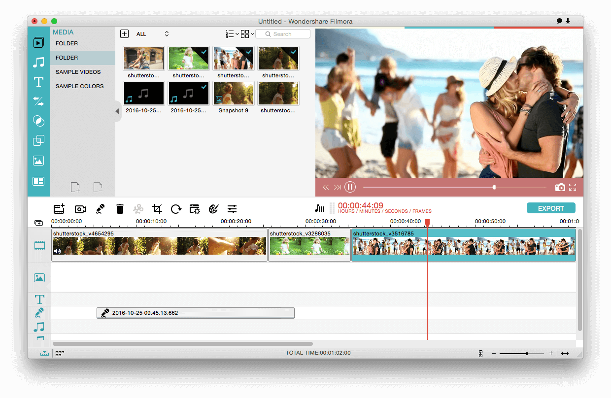 apply effects to quicktime video on mac