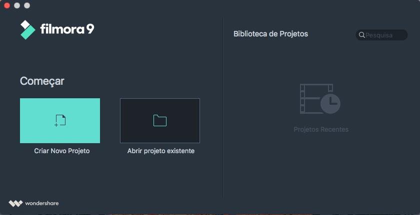 interface de introdução
