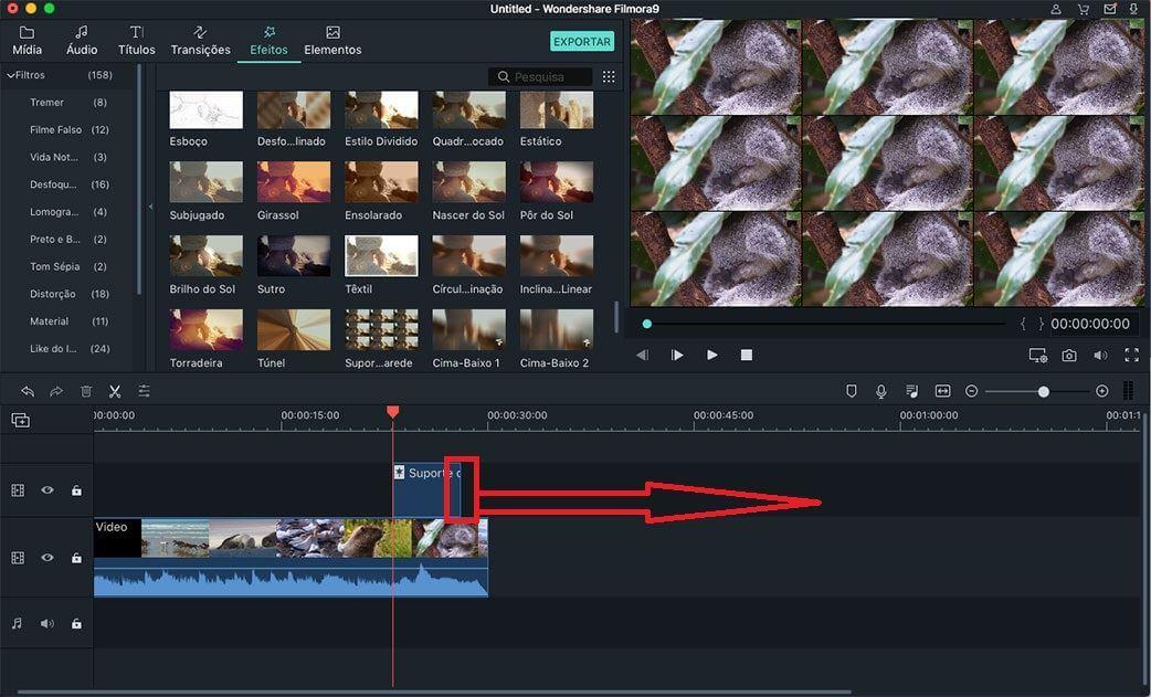 personalizar filtros sobreposições