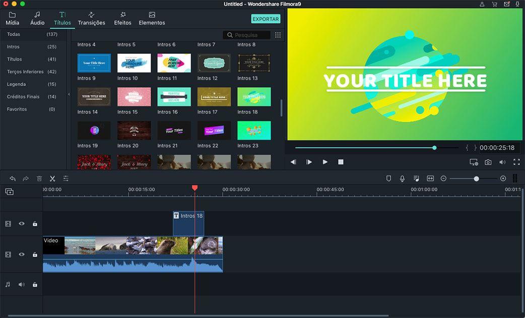Adicionar Texto/Títulos Vídeo – Como Fazê-lo de Forma Fácil e Rápida
