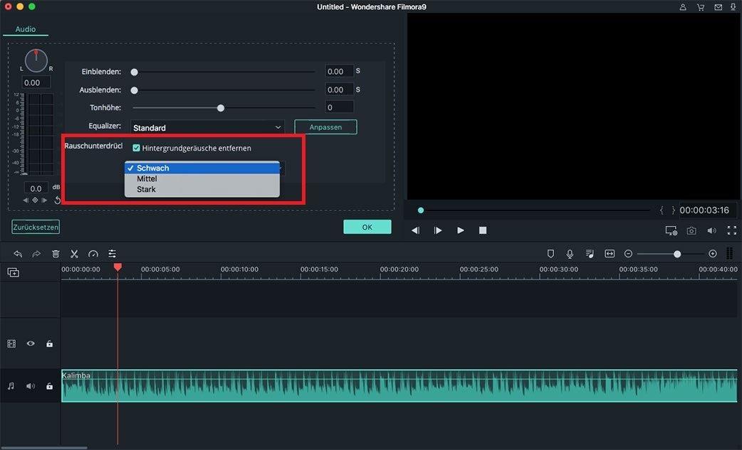 audio rauschentfernung