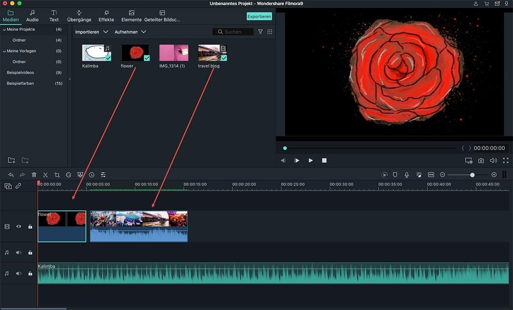 video in imovie alternative speichern