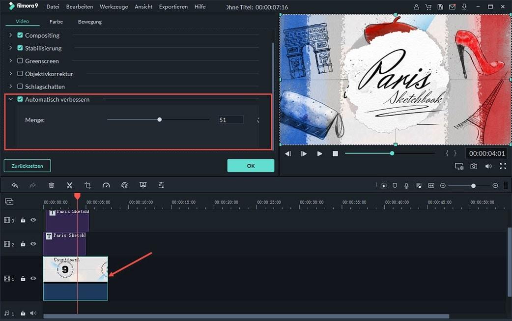 video qualität verbessern