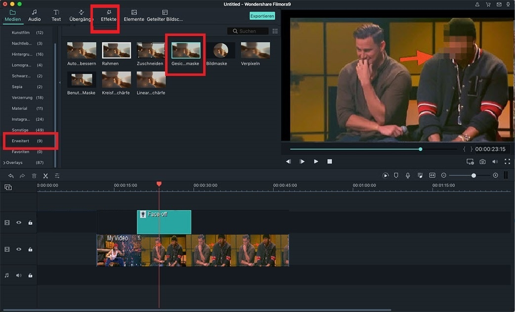 Final Cut Pro Tutorial – Gesicht in Final Cut Pro X von jemandem unscharf machen