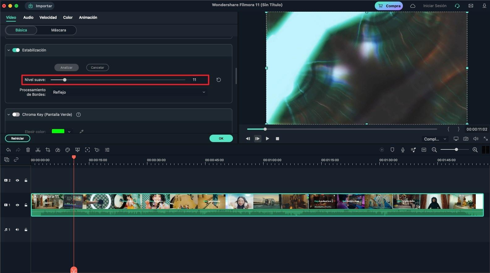 estabilización de video